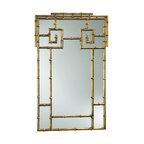 Cyan Design - Cyan Design 38x23 Bamboo Wall Mirror - 38x23 Bamboo Wall Mirror