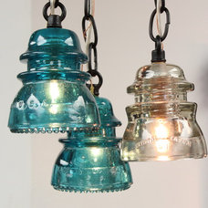 eclectic pendant lighting by Colonial Metalcrafts