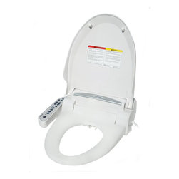 Magic Clean Bidet with Dryer, Elongated - Better your bathroom and experience the ultimate in personal hygiene with this easy-to-install bidet. It features adjustable water temperature and pressure, and a heated seat, anti-slam lid. You'll feel cleaner and more comfortable with every splash.