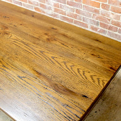 Oak Coffee Table - Made By http://www.ecustomfinishes.com