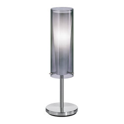 EGLO - Eglo 90308A Matte Nickel 1X60W Table Lamp - EGLO 90308A Matte Nickel 1x60W Table Lamp