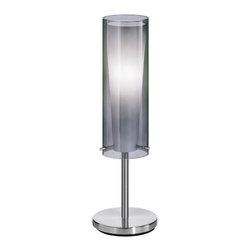 EGLO - Eglo 90308A Matte Nickel 1X60W Table Lamp - EGLO 90308A Matte Nickel 1x60W Table Lamp