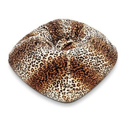 Ace Bayou 098 Fur Bean Bag Lounger - Leopard - Soft and stylish, the Ace Bayou 098 Fur Bean Bag Lounger - Leopard is the perfect addition to your little fashionista's favorite room. Filled with cushy polystyrene beads, this plush faux fur bean bag is double stitched for durability and ergonomically designed for comfort. Ideal for relaxing, reading a book, gaming, or watching TV. A great gift for someone, this bean bag will be a welcome addition to any kid's or teen's room.About Ace Bayou CorporationAce Bayou Corporation was founded in 1986 and has grown into a group of diverse, lifestyle-focused divisions. They all feature innovative, quality products at prices that allow everyone to enjoy the benefits. Their lifestyle furniture division features youth and adult casual furniture, including unique bean bags, video rockers, recliners, and special seating products. As a recognized innovator in these categories, Ace Bayou provides products that fit your lifestyle.