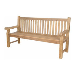Anderson Teak - Devonshire 4-Seater Extra Thick Bench - The classic Devonshire Bench is recommended for use in parks, malls, hotels, resorts, city sidewalks, or public squares. These are the benches that be used robustly for generations. This is simple traditional styling that has not ever and will not ever go out of style, but quietly blends with any d_cor. We have made subtle but careful design changes to ensure excellent back support. Quality built for decades. Cushion is optional and is being made by order.