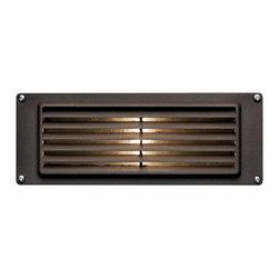Hinkley Lighting - Hinkley Lighting 1594BZ-LED Louvered Brick 1 Light Deck/Step Lighting in Bronze - Brick Landscape