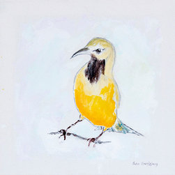 It's a Beautiful World! - Ben Gertsberg, Bullock's Oriole No 2, Limited Edition Art Print - Bullock's Oriole No 2 - limited edition print of original acrylic painting. One of two pieces.