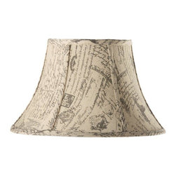 Home Decorators Collection - Home Decorators Collection Lamp Shades Bell Large 18 in. Diameter French Script - Shop for Lighting & Ceiling Fans at The Home Depot. Bring an air of subtle elegance to your home with our Bell Linen Lamp Shade. The classic bell shape and matte finish available in your choice of several stylish looks will dress up any lamp. Order yours today.