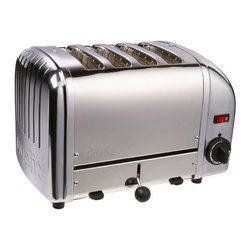 Dualit 4-Slice Toaster - This is the mac daddy of toasters, classic design, high marks for actually working well, a splurge but well worth it.