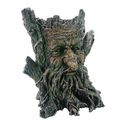 TLT - 6.75 Inch Hand Painted Knowledge of the Ages Treebeard Candle Holder - This gorgeous 6.75 Inch Hand Painted Knowledge of the Ages Treebeard Candle Holder has the finest details and highest quality you will find anywhere! 6.75 Inch Hand Painted Knowledge of the Ages Treebeard Candle Holder is truly remarkable.