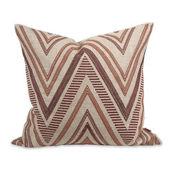 IMAX CORPORATION - IK Kamaria Embroidered Pillow with Down Insert - IK Kamaria Embroidered Pillow w/ Down Insert. Find home furnishings, decor, and accessories from Posh Urban Furnishings. Beautiful, stylish furniture and decor that will brighten your home instantly. Shop modern, traditional, vintage, and world designs.