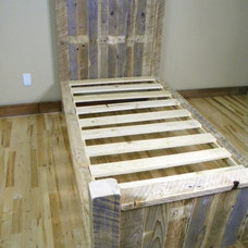 Rustic Kids Beds by Etsy