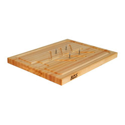 John Boos Reversible Edge Grain Slicer Board
