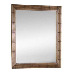 Magnussen - Magnussen Palm Bay Mirror in Toffee Finish - Magnussen - Mirrors - B146940