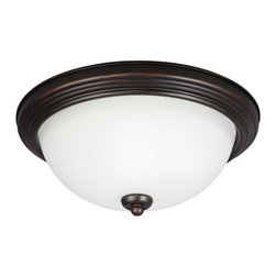 Sea Gull Lighting - Sea Gull Lighting 79263BLE 1 Light Flush Mount Fluorescent Energy Star Ceiling F - Features: