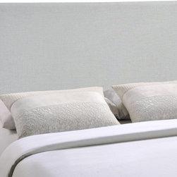 Modway Imports - Modway MOD-5212-GRY Region King Upholstered Headboard In Gray - Modway MOD-5212-GRY Region King Upholstered Headboard In Gray