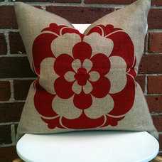 Eclectic Decorative Pillows by OpenWeave