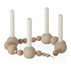 Candleholder String, Natural