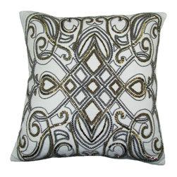 Festivo Pillow, Gold-Silver - Festivo pillow.