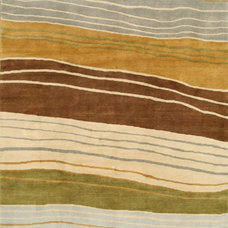 Contemporary Carpet Flooring by Alyshaan Fine Rugs