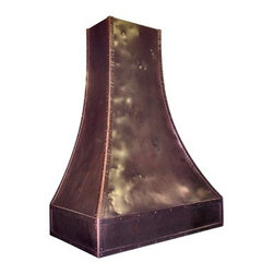 Copper Range Hood #13, K - Interior Design by D'Asign Source: http://www.dasignsource.com
