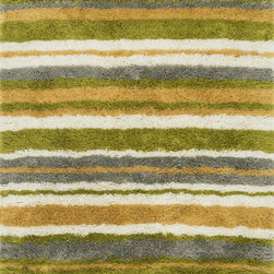 "Loloi Rugs - Loloi Rugs Garden Shag Collection - Citron / Multi, 9'-3"" x 13' - Introducing one of our most inventive collections; the first-ever indoor/outdoor shag. Hand woven in India of 100% polyester, Garden Shag offers the same softness and textural appeal of our other shag collections, except this yarn is treated to withstand all of mother nature's elements including sunshine, rain, and dirt. And because the look is so versatile, Garden Shag looks equally at home as an easy-to-clean rug in the dining room or sunroom as it does outdoors."