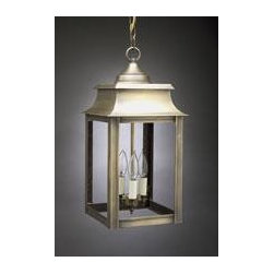 Concord Lantern - Available in a number of shades and finishes, this lantern also can be manufactured with a decorative top.