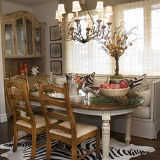 Traditional Dining Room by Maison Luxe