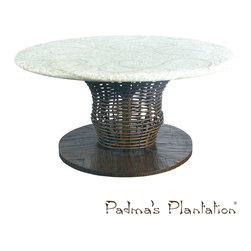 Padma's Plantation Vista Outdoor Chat Table - Padma's Plantation Vista Outdoor Chat Table