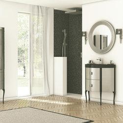 "Macral ( Spain) - Macral Design Products - Eclectic bathroom Vanity Set. SENA SET 32""."