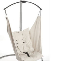 Organic MySeat in Natural - You vow to give your child the best comfort yet you refuse to give up your good taste in the process. Well this organic bounder is for you. Sleek and safe, this natural-hued number will have you and baby cooing.