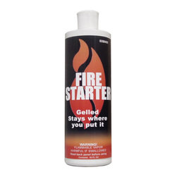 Forrest Paint Co. - Stove Bright Gelled Fire Starter, Case of Twelve 16 Oz. Bottles - Stoveb Bright Gelled Fire Starter, Case Of Twelve 16 oz. Bottles