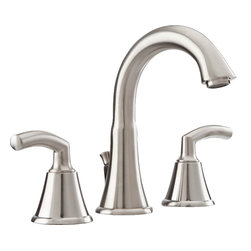 """American Standard - American Standard 7038.801.295 Tropic Bath Faucet - Carefree comfort at its finest. Designed to complement casual decors, our relaxed Tropic? Suite features 24 style-matched pieces with fluid, flared lines. ADA-approved lever handles turn easily without needing to be gripped tightly, and flexible hose connections allow you to install them from 6"""" to 12"""" apart to accommodate a variety of sinks."""