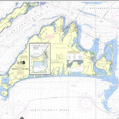 Nautical Chart of Martha's Vineyard
