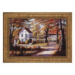 Paragon - Rustling Leaves - Framed Art - Each product is custom made upon order so there might be small variations from the picture displayed. No two pieces are exactly alike.