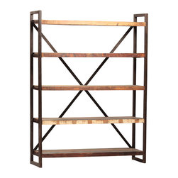 Industrial Furniture Ideas - Avila Bookcase by Dovetail Furniture