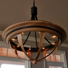 Contemporary Chandeliers by Greg Day Lighting