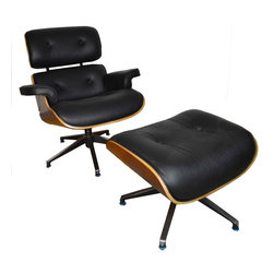 Eames Lounge Chair and Ottoman - Item Number: F187