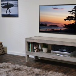 Beach House TV Stand - presEARTH Driftwood -