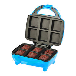 Kalorik - Brownie Oven - Nothing beats brownies fresh from the oven. This cute oven would be great for kids and parties. You could wow all the little ones with a fresh dessert every night. And the nonstick baking plates make cleanup super easy. What's not to love?