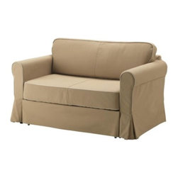 IKEA of Sweden - HAGALUND Sofabed slipcover - Sofabed slipcover, Idemo beige