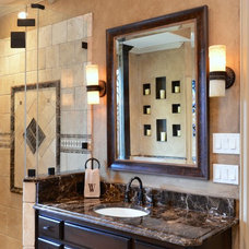 Traditional Vanity Tops And Side Splashes by Levantina USA