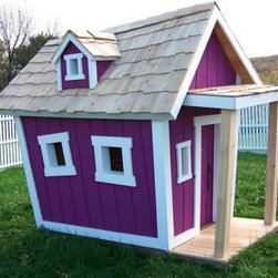 Topsy-Turvy Playhouse - This is what I would like my house to look like: imperfectly perfect as one might say.