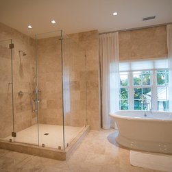 True Frameless Shower Enclosures -