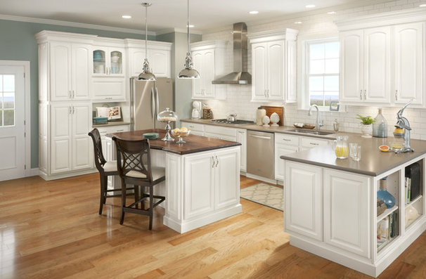 Eclectic Kitchen Cabinetry by Shenandoah Cabinetry