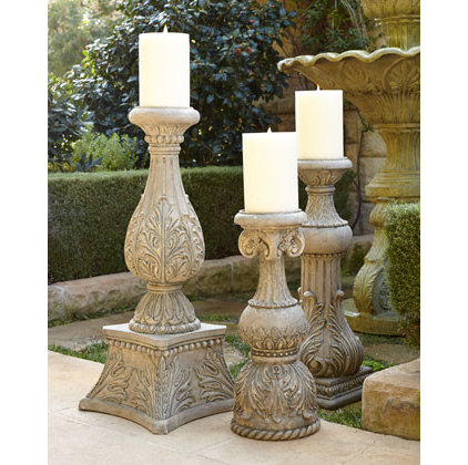 Traditional Candleholders by Horchow