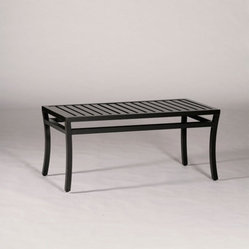 Davenport Outdoor Coffee Table - Grandin Road