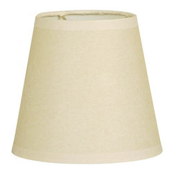 """Royal Designs, Inc"" - 6"" Parchment Empire Beige Chandelier Lampshade - ""This 6"" Parchment Empire Beige Chandelier Lampshade - 4 x 6 x 5.5 is a part of Royal Designs, Inc. Timeless Chandelier Shade Collection and is perfect for anyone who is looking for a simple yet stunning lampshade. Royal Designs has been in the lampshade business since 1993 with their multiple shade lines that exemplify handcrafted quality and value."