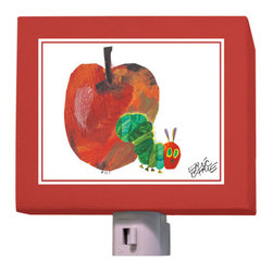 Oopsy Daisy - Eric Carle's The Very Hungry Caterpillar & Apple Night Light - Eric Carle's The Very Hungry Caterpillar & Apple Night Light