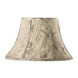 Home Decorators Collection - Home Decorators Collection Bell Small 14 in. Diameter French Script Linen Shade - Shop for Lighting & Fans at The Home Depot. Bring an air of subtle elegance to your home with our Bell Linen Lamp Shade. The classic bell shape and matte finish, available in your choice of several stylish looks, will dress up any lamp. Order yours today.