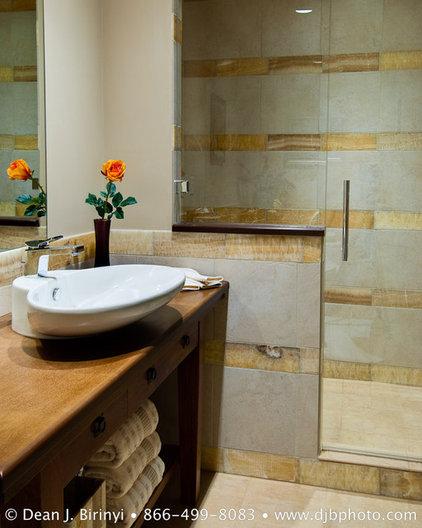 contemporary bathroom by Dean J.Birinyi